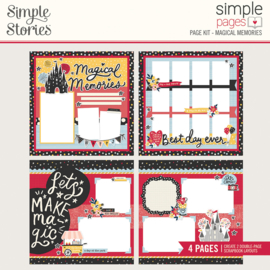 Simple Pages Page Kit - Magical Memories - Unit of 3