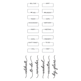 Plan On It Stamps - Unit of 3