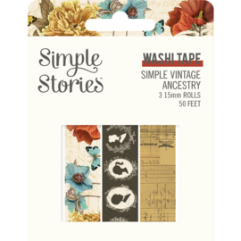 SV Ancestry - Washi Tape - Unit of 3
