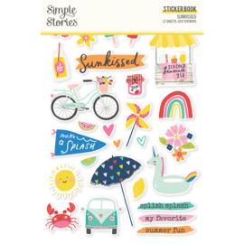 Sunkissed - Sticker Book- Unit of 3