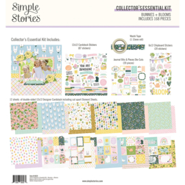 Bunnies + Blooms - Collector's Essential Kit- unit of 1