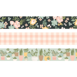 Spring Farmhouse Washi Tape - Unit of 3