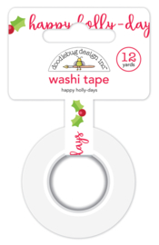 Happy Holly-days Washi Tape - Unit of 3