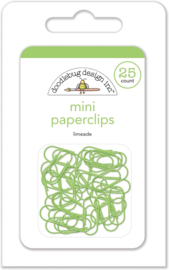 Limeade Mini Paperclips - Unit of 3