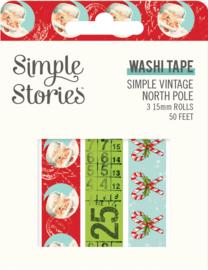 SV North Pole Washi Tape - Unit of 3