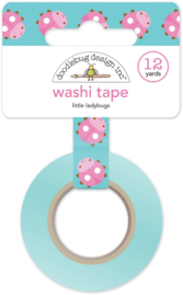 Little Ladybugs Washi Tape - Unit of 3