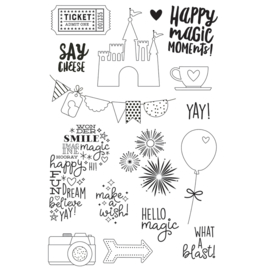 Say Cheese 4 Magic 4x6 Stamps - Unit of 1