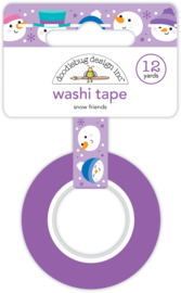 Snow Friends Washi Tape - Unit of 3