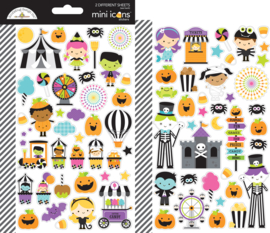 Candy Carnival Mini Icons Stickers - unit of 3