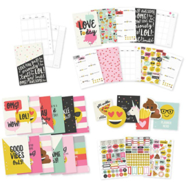 Emoji Love A5 12 Month Planner Insert Set- Unit of 1