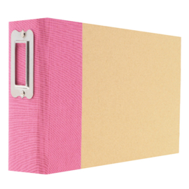 Pink 4x6  Binder - Unit of 3