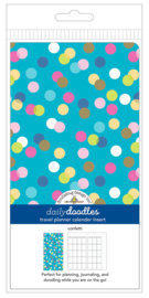 Confetti Daily Daily Doodles Travel Planner Inserts - Unit of 1