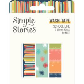 School Life - Washi Tape - Unit of 3