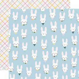 Bunnies + Blooms - Bunny Love - Unit of 5