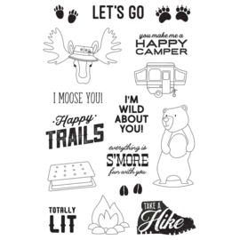 Happy Trails 4x6 Stamps - Unit of 2