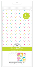 Summer Garden Daily Doodles Travel Planner Inserts - Unit of 1