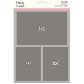 Simple Pages Page Template - Design 2 - Unit of 3