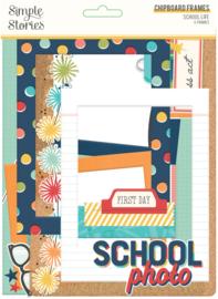 School Life - Chipboard Frames - Unit of 3