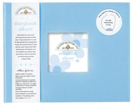 Bubble Blue Storybook Album 8x8 - Unit of 1