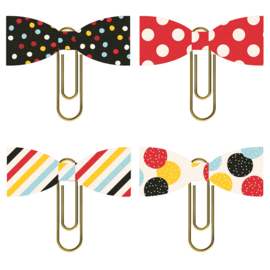 Say Cheese 4 Bow Clips - Unit of 3