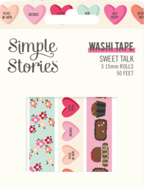 Sweet Talk - Washi Tape - Unit of 3