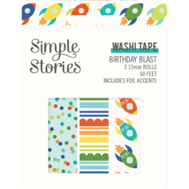 Birthday Blast Washi Tape - Unit of 3
