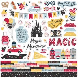 Say Cheese Main Street - Combo Sticker  - unit of 3