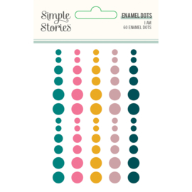 I Am 2020  Enamel Dots- Unit of 3