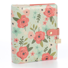 Mint Blossom A5 Planner Cover- Unit of 1