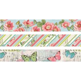Simple Vintage Botanicals Washi Tape - Unit of 3