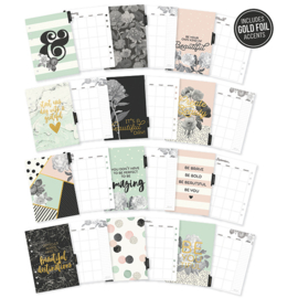A5 Beautiful Monthly Planner Inserts- Unit of 3