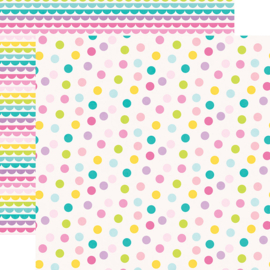 """Magical Birthday  HB2U Double Sided 12x12"""" - Unit of 5"""