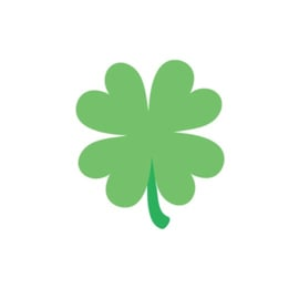 Shamrock Sweet Rolls Mini  Icon Stickers   - Unit of 3