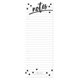 Notes Bookmark Tablet - Unit of 3