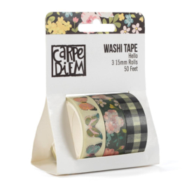 Hello Washi Tape- Unit of 3