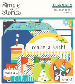 Birthday Blast Journal Bits & Pieces - Unit of 3