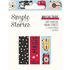 Say Cheese Main Street - Washi Tape - Unit of 3