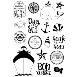 Cruisin' Set Sail 4x6 Stamps - Unit of 1