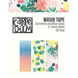 Sunshine and Blue Skies Washi Tape - Unit of 3