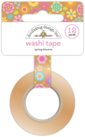 Spring Blooms Washi Tape  - Unit of 3