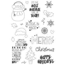 Say Cheese Christmas 4x6 Stamps - Unit of 2
