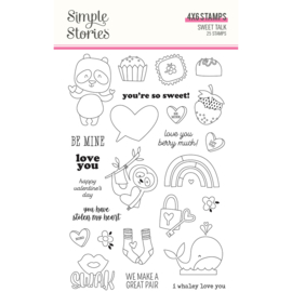 Sweet Talk - Stamps - Unit of 2