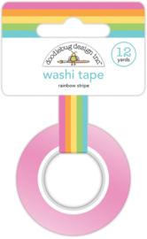 Rainbow Stripe Washi Tape - Unit of 3
