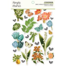 SV Farmhouse Garden - Sticker Book - Unit of 3