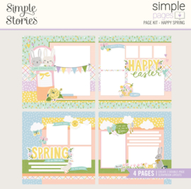 Simple Pages Page Kit - Happy Spring - Unit of 3