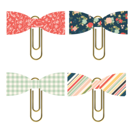 So Happy Together Bow Clips - Unit of 3