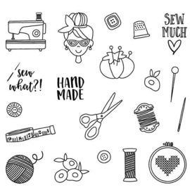 Sew It Stamps - Unit of 3
