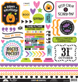 Candy Carnival This & That Stickers - unit of 3