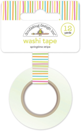 Springtime Stripe Washi Tape  - Unit of 3