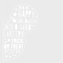 Say Cheese Halloween 6x6 Stencil - Unit of 3